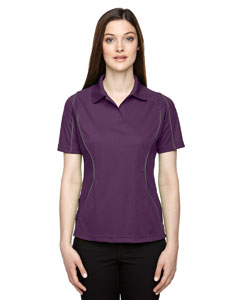 Mulbry Purpl 449 Eperformance™ Ladies' Velocity Snag Protection Colorblock Polo with Piping