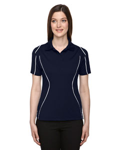 Classic Navy 849 Eperformance™ Ladies' Velocity Snag Protection Colorblock Polo with Piping