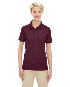 Burgundy 060 Eperformance™ Ladies' Shield Snag Protection Short-Sleeve Polo