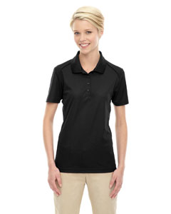 Black 703 Eperformance™ Ladies' Shield Snag Protection Short-Sleeve Polo