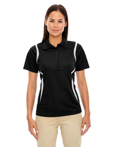 Black 703 Eperformance™ Ladies' Venture Snag Protection Polo