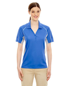 Lt Naut Blu 417 Eperformance™ Ladies' Parallel Snag Protection Polo with Piping