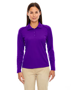 Campus Prple 427 Eperformance™ Ladies' Armour Snag Protection Long-Sleeve Polo