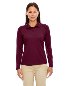 Burgundy 060 Eperformance™ Ladies' Armour Snag Protection Long-Sleeve Polo