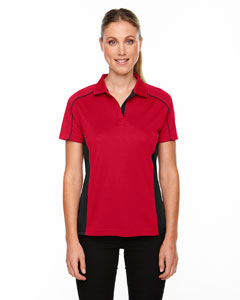 Classic Red 850 Eperformance™ Ladies' Fuse Snag Protection Plus Colorblock Polo