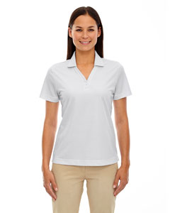 Silver 674 Eperformance™ Ladies' Launch Snag Protection Striped Polo