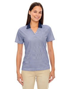 Classic Navy 849 Eperformance™ Ladies' Launch Snag Protection Striped Polo