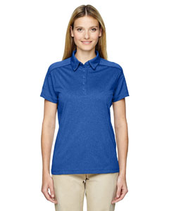 Nauticl Blue 413 Eperformance™ Ladies' Fluid Mélange Polo