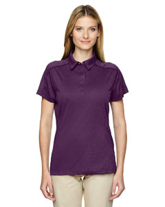 Mulbry Purpl 449 Eperformance™ Ladies' Fluid Mélange Polo