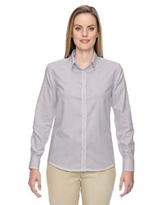 Mulbry Purpl 449 Ladies' Paramount Wrinkle-Resistant Cotton Blend Twill Checkered Shirt