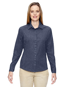Navy 007 Ladies' Excursion Utility Two-Tone Performance Shirt