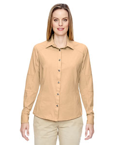 Stone 019 Ladies' Excursion Utility Two-Tone Performance Shirt