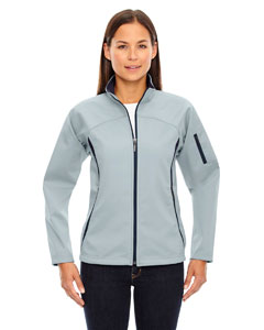 Opal Blue 826 Ladies' Three-Layer Fleece Bonded Performance Soft Shell Jacket