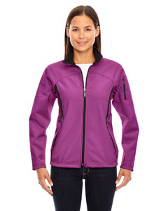 Plum Rose 889 Ladies' Three-Layer Fleece Bonded Performance Soft Shell Jacket