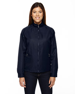 Midn Navy 711 Ladies' Mid-Length Micro Twill Jacket