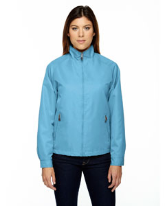Blue Drop 895 Ladies' Mid-Length Micro Twill Jacket
