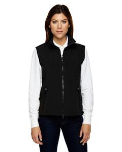 Black 703 Ladies' Three-Layer Light Bonded Performance Soft Shell Vest