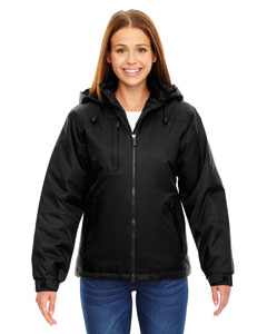 Black 703 Ladies' Insulated Jacket