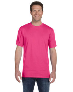 Hot Pink Ringspun Midweight T-Shirt