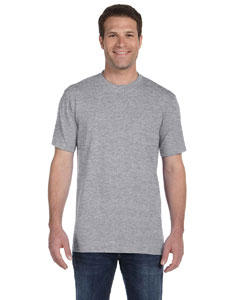 Heather Grey Ringspun Midweight T-Shirt