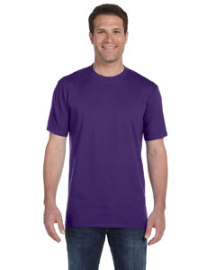 Purple Ringspun Midweight T-Shirt