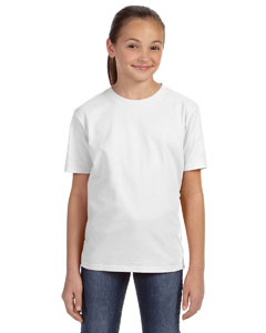 White Youth Ringspun Midweight T-Shirt