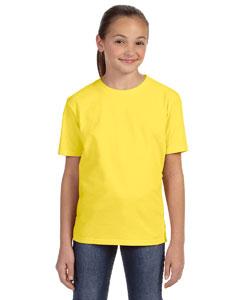 Lemon Zest Youth Ringspun Midweight T-Shirt