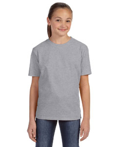 Heather Grey Youth Ringspun Midweight T-Shirt