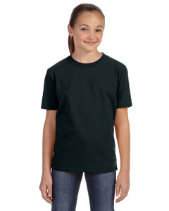 Black Youth Ringspun Midweight T-Shirt