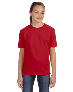 Red Youth Ringspun Midweight T-Shirt