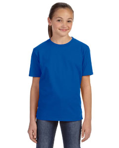 Royal Blue Youth Ringspun Midweight T-Shirt