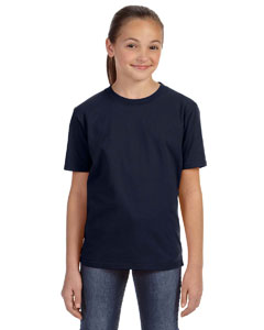 Navy Youth Ringspun Midweight T-Shirt