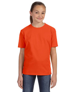 Orange Youth Ringspun Midweight T-Shirt