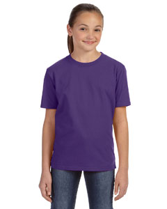 Purple Youth Ringspun Midweight T-Shirt