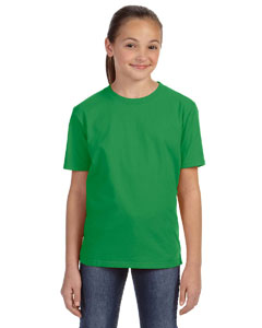 Green Apple Youth Ringspun Midweight T-Shirt