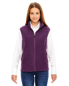 Mulbry Purpl 449 Ladies' Voyage Fleece Vest