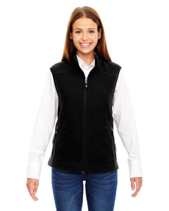 Black 703 Ladies' Voyage Fleece Vest