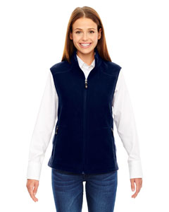 Classic Navy 849 Ladies' Voyage Fleece Vest
