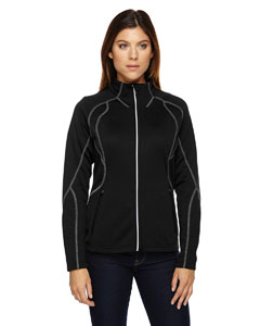 Black 703 Ladies' Gravity Performance Fleece Jacket