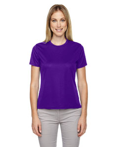 Campus Prple 427 Ladies' Pace Performance Piqué Crew Neck