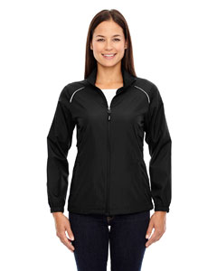 Black 703 Ladies' Motivate Unlined Lightweight Jacket