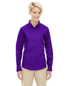 Campus Prple 427 Ladies' Operate Long-Sleeve Twill Shirt