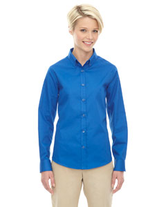 True Royal 438 Ladies' Operate Long-Sleeve Twill Shirt