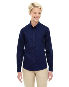 Classic Navy 849 Ladies' Operate Long-Sleeve Twill Shirt