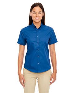 True Royal 438 Ladies' Optimum Short-Sleeve Twill Shirt