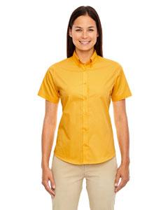 Campus Gold 444 Ladies' Optimum Short-Sleeve Twill Shirt