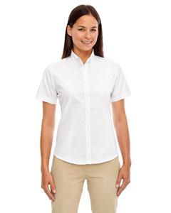White 701 Ladies' Optimum Short-Sleeve Twill Shirt