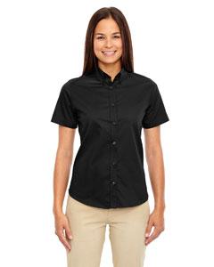 Black 703 Ladies' Optimum Short-Sleeve Twill Shirt