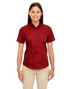 Classic Red 850 Ladies' Optimum Short-Sleeve Twill Shirt