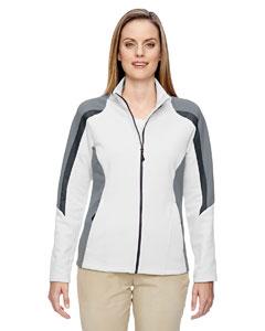 Crystl Qrtz 695 Ladies' Strike Colorblock Fleece Jacket